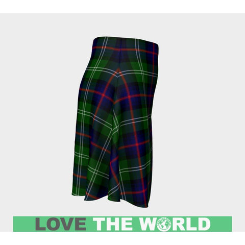 Tartan Skirt - Sutherland Modern Women Flared Skirt A9 |Clothing| 1sttheworld