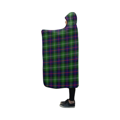 Sutherland Modern Tartan Hooded Blanket - Bn | Love The World