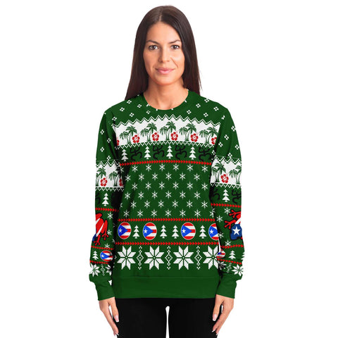 Puerto Rico Sweatshirt Christmas TH5