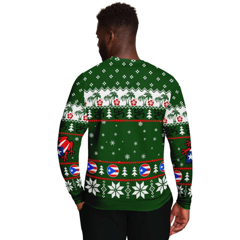 Puerto Rico Christmas Sweatshirt TH5