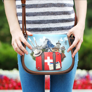 Swiss Travel Saddle Bag - swiss travel, saddle bag, swiss bag, accessories, online shopping