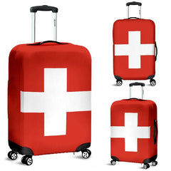 Switzerland Flag Luggage Cover A4 Covers