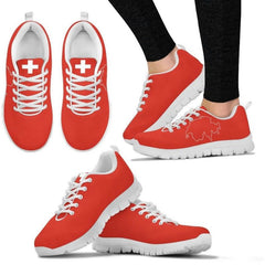 Switzerland (Mens /womens) Sneakers 01 Womens - White / Us5 (Eu35) Sneakers