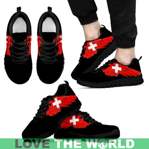 Image of Switzerland (Mens / Womens) Sneakers A9 Womens - White Us5 (Eu35) Sneakers