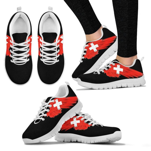 Switzerland (Mens / Womens) Sneakers A9 Womens - White Us5 (Eu35) Sneakers