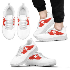 Switzerland (Mens/womens) White Sneakers A0 Mens Sneakers - White 1 / Us5 (Eu38)
