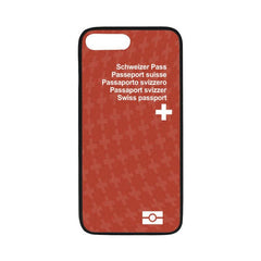 Switzerland Passport Iphone Case - Bn03 One Size / Swiss 1 Rubber Case For Iphone 7 Plus (5.5)