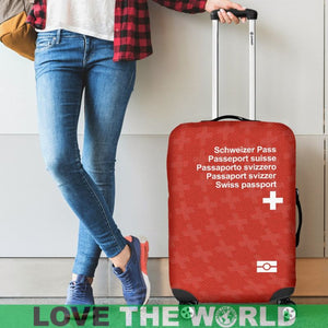 Switzerland Passport Luggage Cover - BN