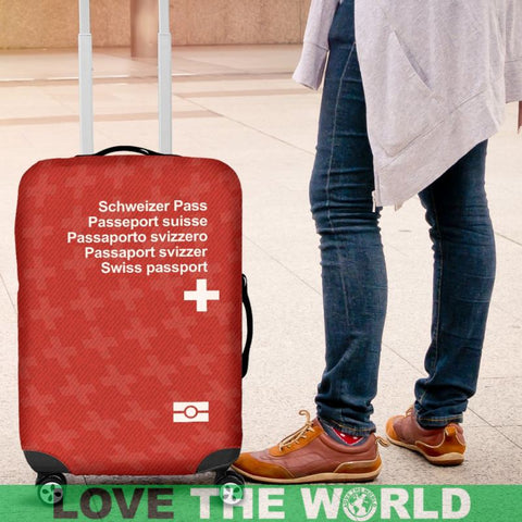 Switzerland Passport Luggage Cover , Swiss Passport, Switzerland Passport