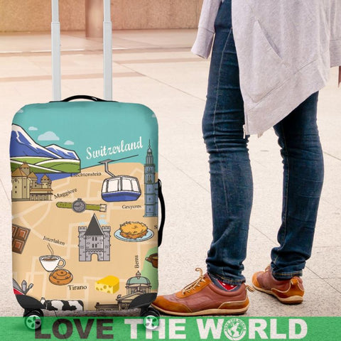 Switzerland Travel Luggage Cover H21 Covers