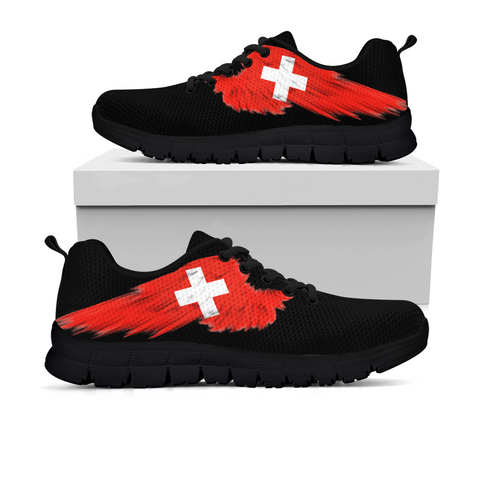 Switzerland (Men's / Women'S) Black Sneaker A9