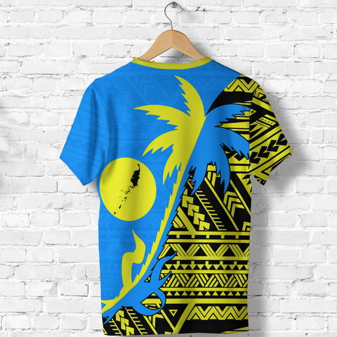 Palau Coconut Tree T Shirt K4