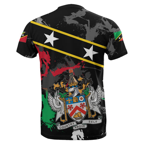 Saint Kitts and Nevis T-Shirt Special Style With Stars TH4
