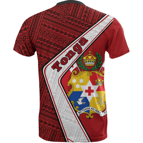 Tonga T-Shirt - Polynesian Coat Of Arms | Love The World