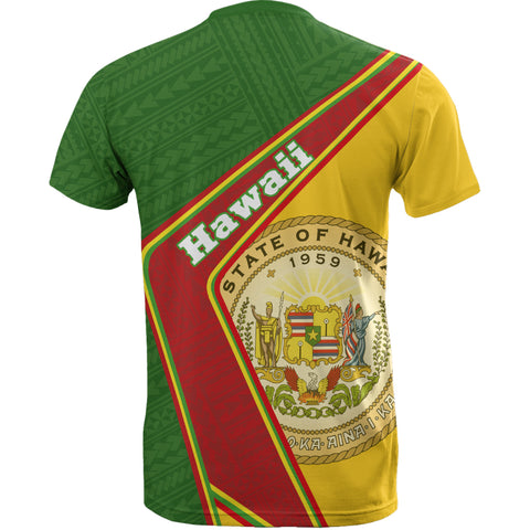 Hawaii T-Shirt - Polynesian Coat Of Arms | Love The World