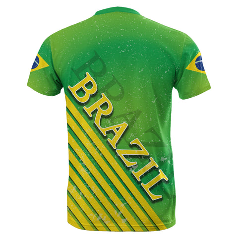 Brazil Special Flag T-Shirt TH4