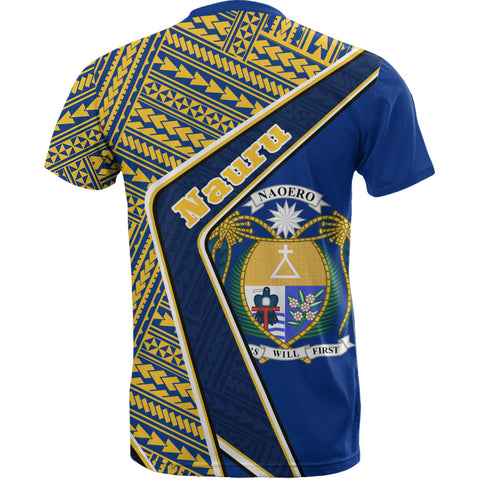 Nauru T-Shirt - Polynesian Coat Of Arms | Love The World