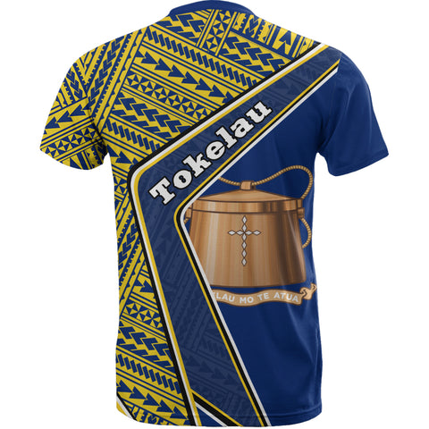 Tokelau T-Shirt - Polynesian Coat Of Arms | Love The World