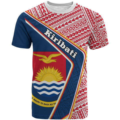 Kiribati T-Shirt - Polynesian Coat Of Arms | Love The World