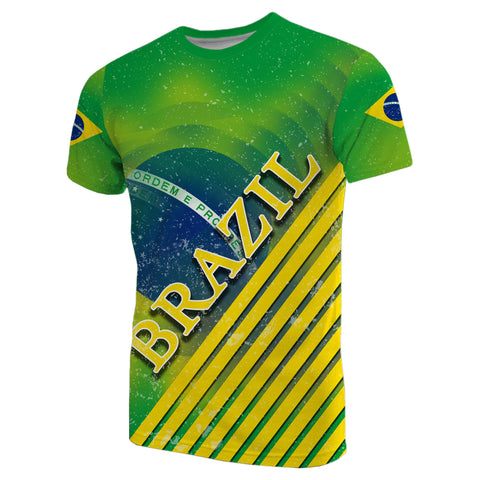 Image of Brazil Special Flag T-Shirt