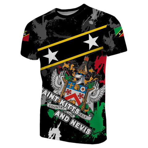Saint Kitts and Nevis T-Shirt Special Style With Stars