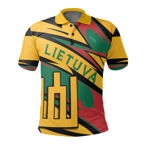 Lithuania Knight Forces Polo Shirt - Lode Style