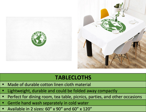 Scotland Tablecloth Scottish Golden Thistle A7