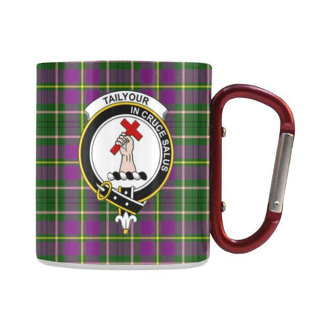 Tartan Mug - Clan Tailyour (Or Taylor) Tartan Insulated Mug A9 | Love The World