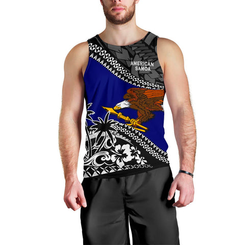 American Samoa Men Tank Top Fall In The Wave 1