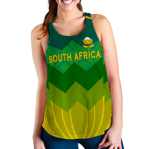 Image of South Africa Racerback Tank Springboks 1