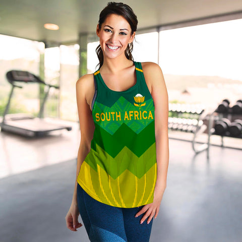 Image of South Africa Racerback Tank Springboks 5