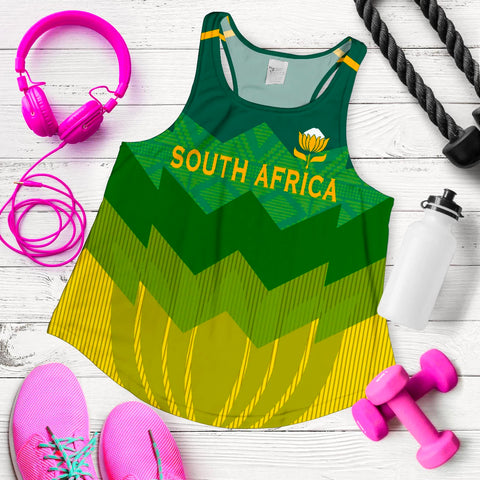 Image of South Africa Racerback Tank Springboks 4