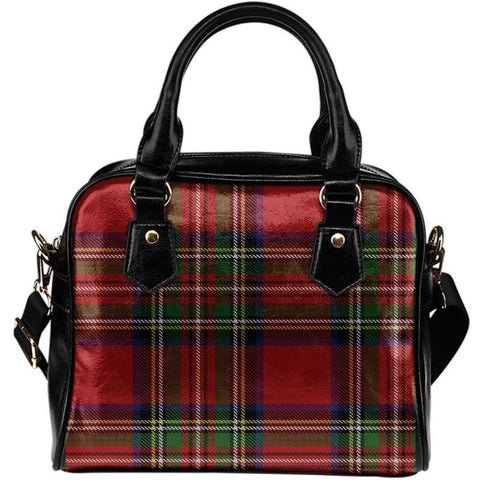 Tartan Shoulder Hanbag Handbags