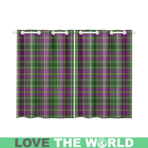 Image of Taylor Tartan Window Curtain - Bn02 Curtains