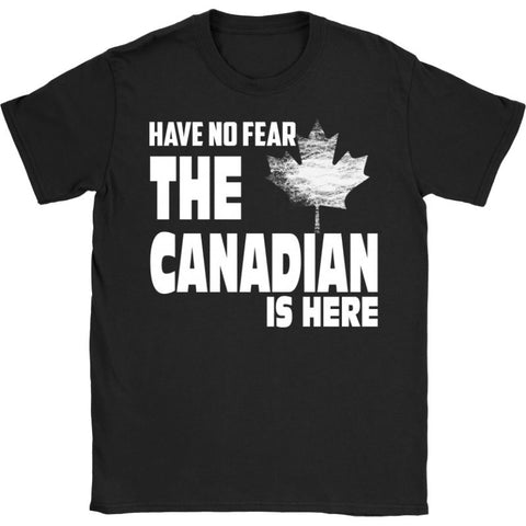 The Canadian Is Here 21 Gildan Womens T-Shirt / Black S T-Shirts
