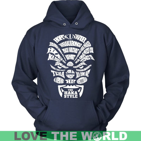 Image of The Haka Style T-Shirts H1 Unisex Hoodie / Black S