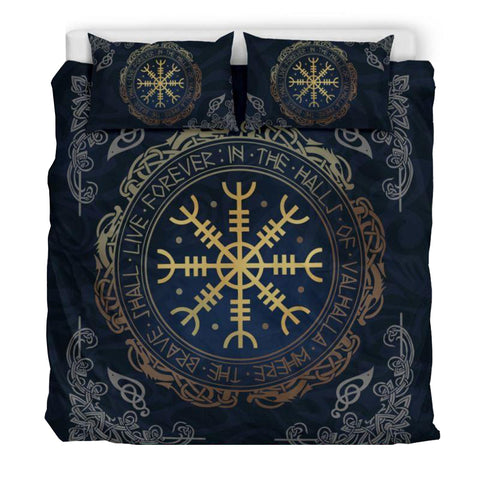 Viking Bedding Set - The Helm Of Awe - BN02