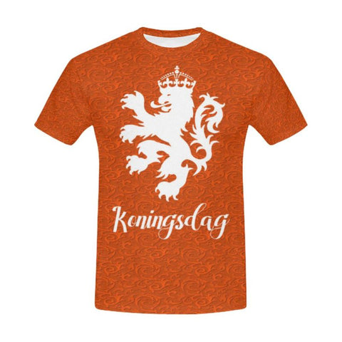 The Netherland Koningsdags All Over Print T-Shirt P1 S / 48 All Over Print T-Shirt For Men (Usa