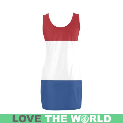 The Netherlands Flag Medea Vest Dress A1 Dresses