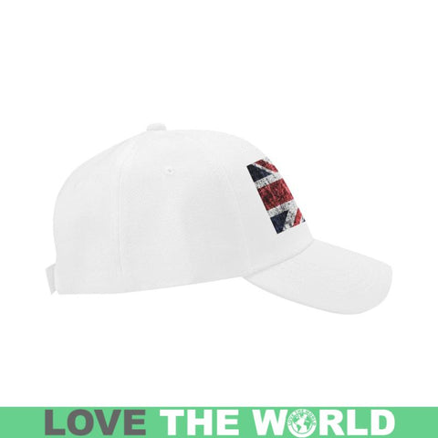 Image of The United Kingdom Flag Dad Cap A1 Caps