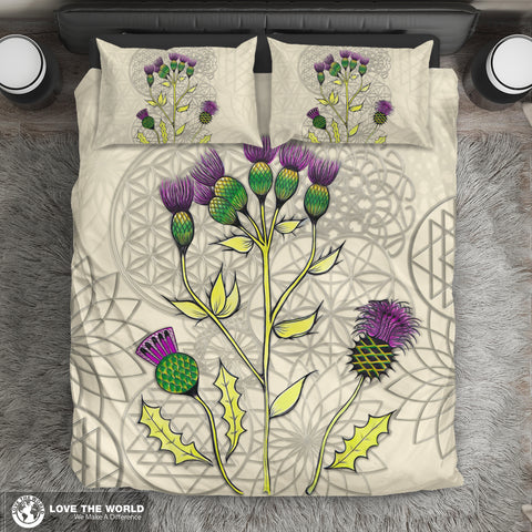 Scotland Duvet Cover - Luxury Scottish Thistle A4