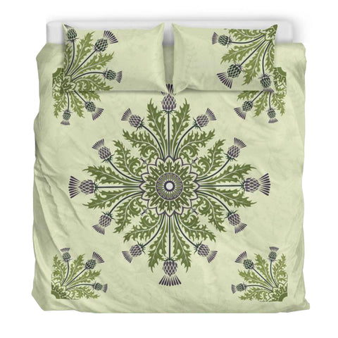Thistle Flower Luxury Bedding Set - Bn01