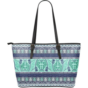 Thistle Large Leather Totes Bag 02