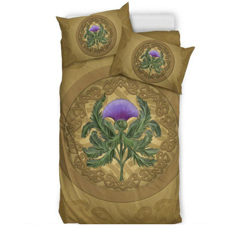 Luxurious Thistle Scottish Bedding Set - Bn01