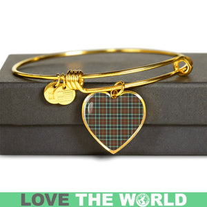 Thomson Hunting Modern Tartan Golden Bangle - BN01