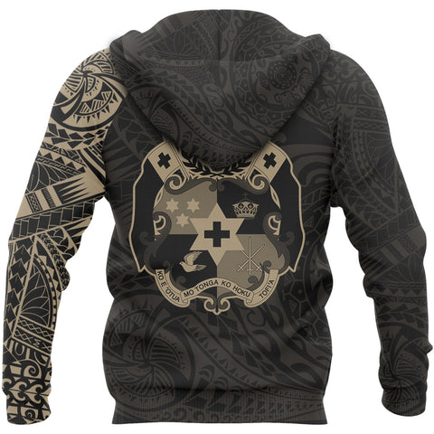 Tonga in My Heart Polynesian Tattoo Style Hoodie A7