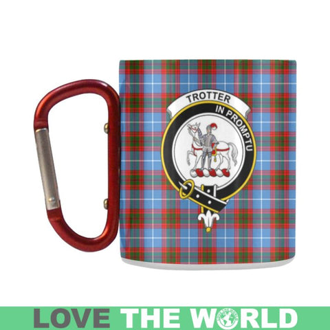 Tartan Mug - Clan Trotter Tartan Insulated Mug A9 | Love The World