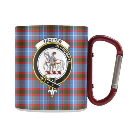 Image of Tartan Mug - Clan Trotter Tartan Insulated Mug A9 | Love The World