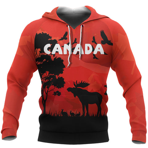 Image of Canada Animal Hoodie