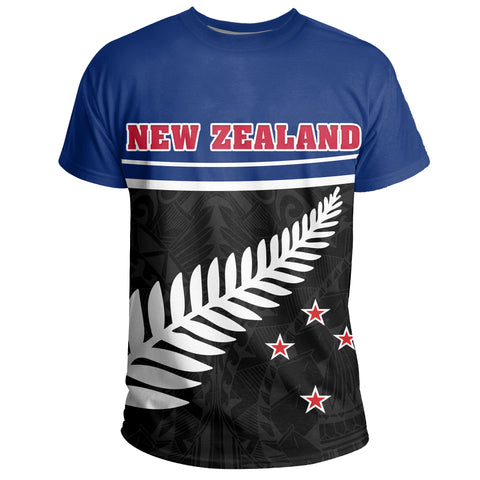 New Zealand Coat Of Arms T-Shirt | 1sttheworld